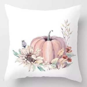 Pillow Cover Autumn Wheat Print